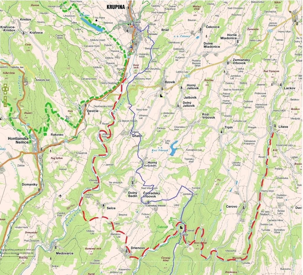 Krupinska-planina_Krupinica-Drienovo-Cabrad-Litava
